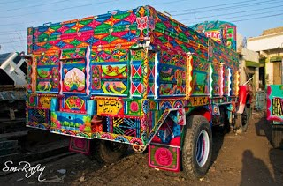 Truck Art of Pakistan Cultural diversity, Pakistani Culture, culture of Pakistan, cultural diversity